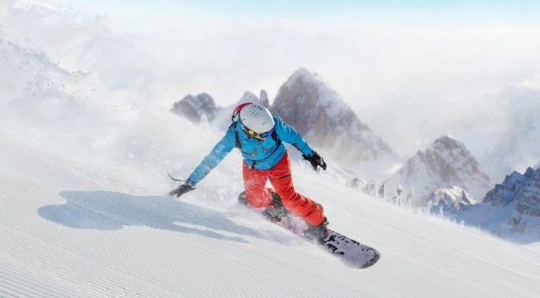 טכניקת הגלישה בסקי ובסנובורד