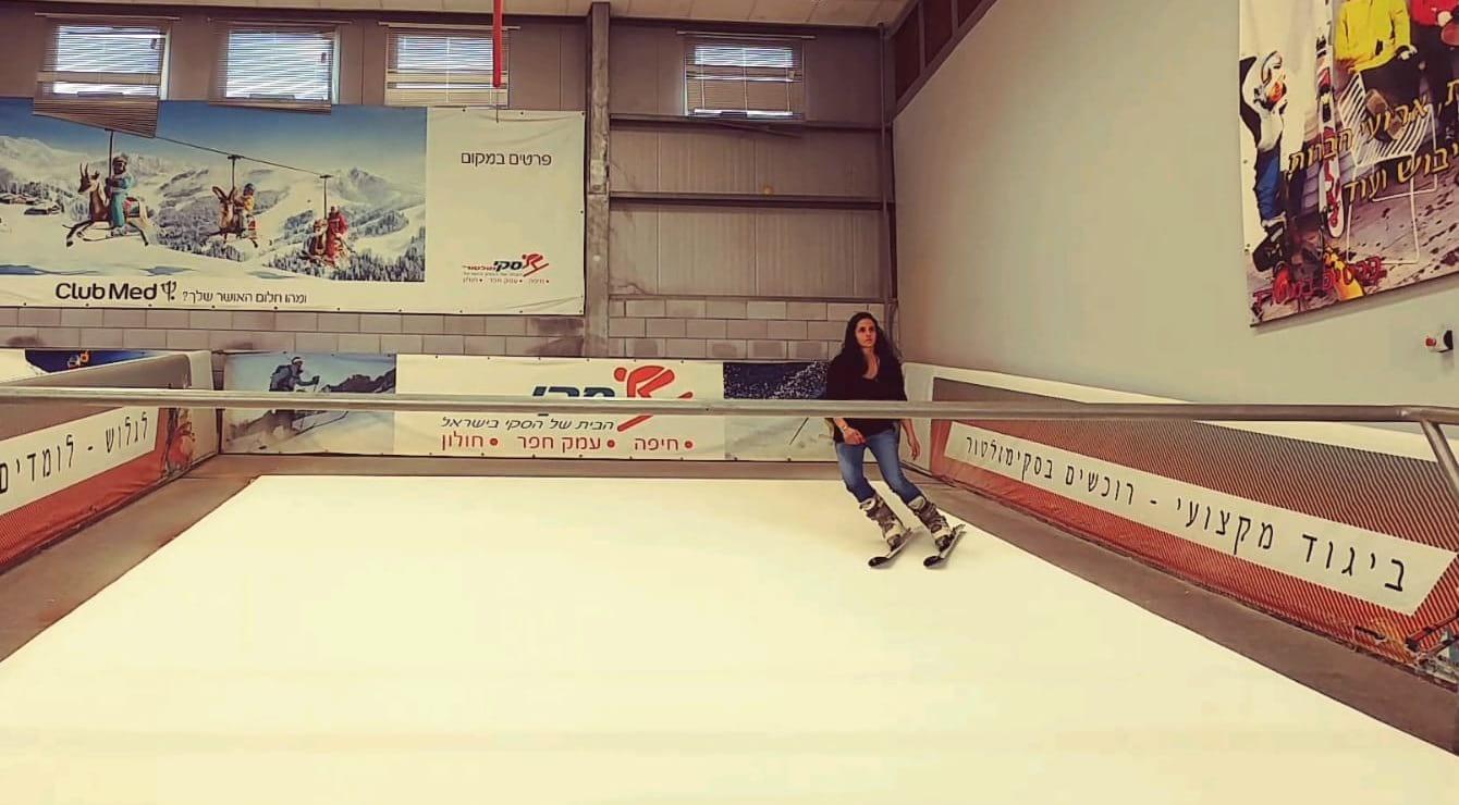 הכנה גופנית לחופשת הסקי בסקימולטור