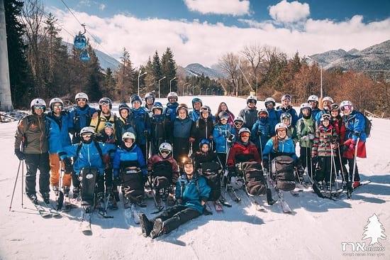 עמותת ארז בחופשת סקי