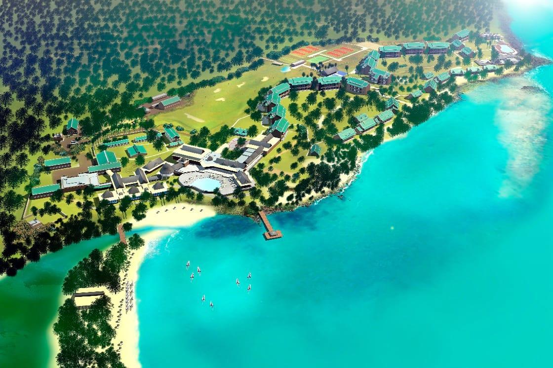La Plantation d'Albion Club Med - סקימולטור