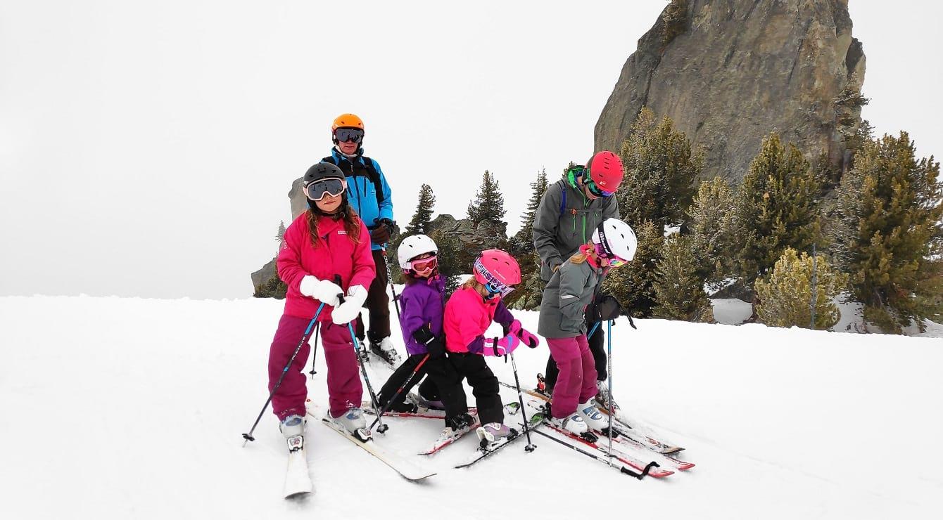 ילדים בחופשת סקי - סקימולטור 2019