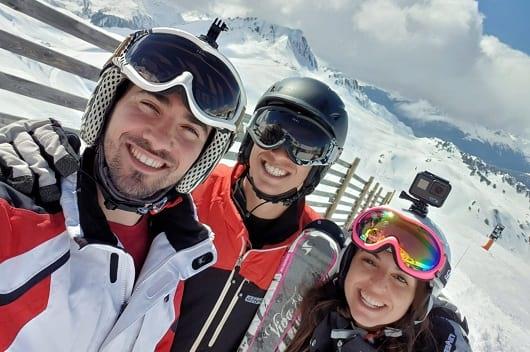 מדריכי סקי בסקימולטור בחופשת סקי שנתית 2019 בפייסי ולנדרי