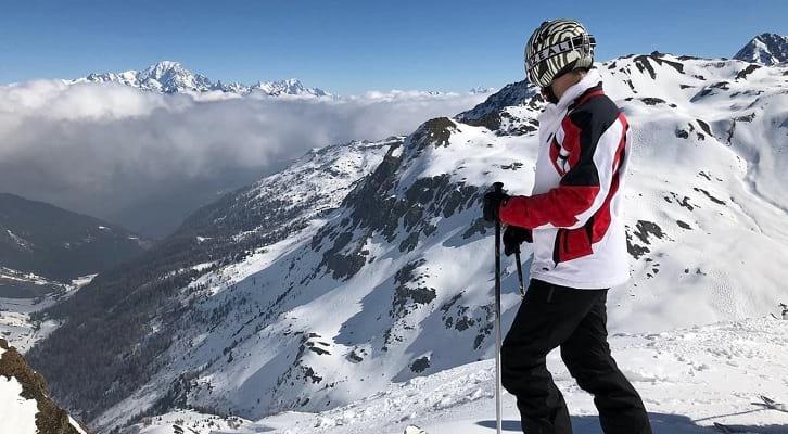 סקי מנקודת מבט קצת אחרת