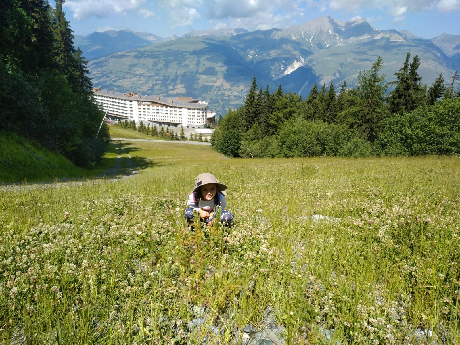 חופשת קיץ באלפים הצרפתיים קלאב מד Les Arcs Panorama