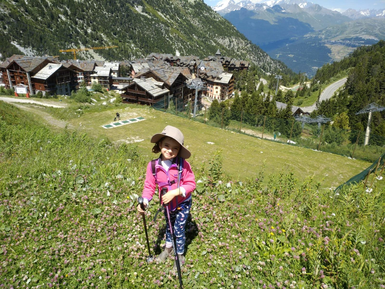 מסלולי הליכה קלאב מד Les Arcs Panorama באלפים הצרפתיים