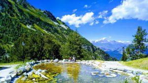 חופשת קיץ באלפים הצרפתיים